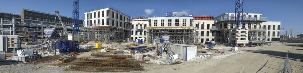 Panorama de chantier