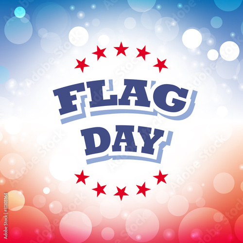 Flag day america greeting card stock image and royalty free vector flag day america greeting card m4hsunfo