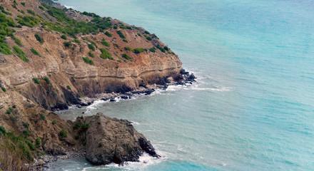 Crimean landscape Cape Fiolent