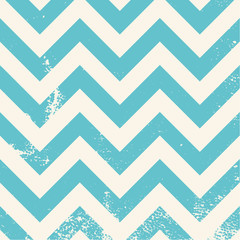 blue chevron pattern with distressed texture