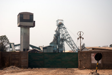 copper mining area
