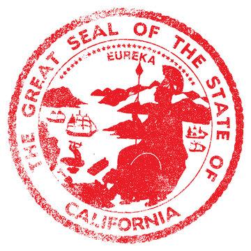California Seal Stamp