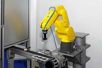 Robot at line