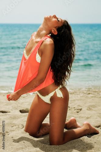 пляж красивые тела