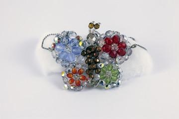 Gioielli, collana colorata
