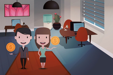 office people illustration