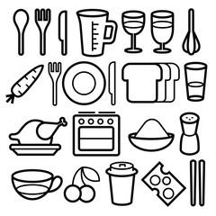 FoodIconsVectorSet01