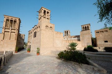 Bastakiya Quarter Architecture, UAE