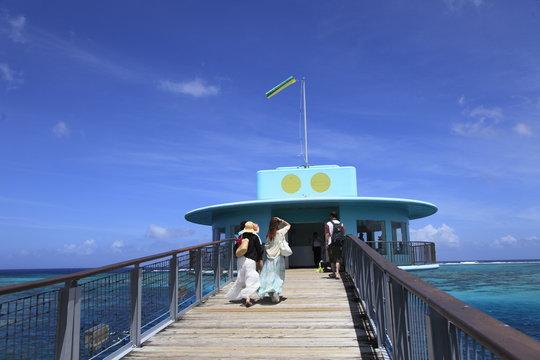 グアム 海中展望塔