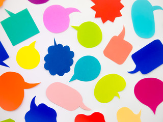 Colorful Balloons (White Background)