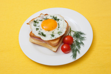"Sandwich ""croque-Madame"""