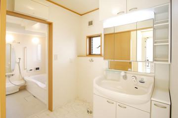 住まいの洗面室とバスルーム イメージ