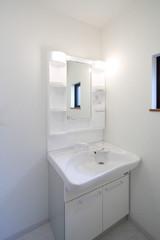 住まいの洗面室