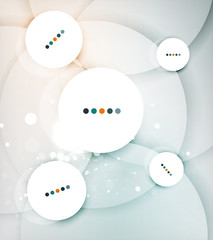 Color circles composition