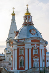 The great Trinity monastery in Sergiyev Posad near Moscow