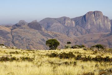 African mountains, Andringitra national park, Madagascar