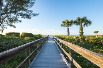 Boardwalk to a Beach