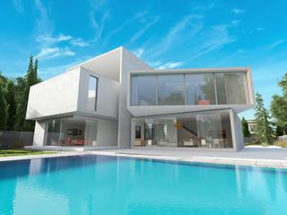 Cubic mansion