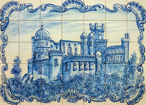 Fotomurales Pena National Palace in Sintra (Palacio Nacional da Pena), Portu
