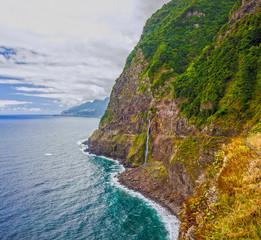 Ocean beach view, Madeira Island, Portugal