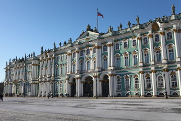Winter Palace  Landmarks of St. Petersburg