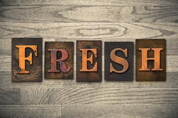 Fresh Wooden Letterpress Theme