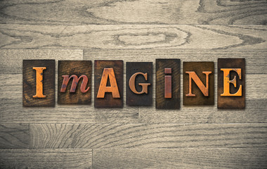 Imagine Wooden Letterpress Theme