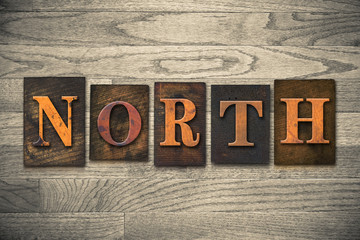 North Wooden Letterpress Theme