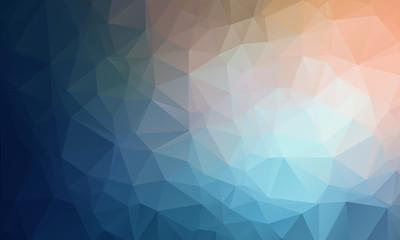 Vector Geometrical polygon abstract background Fotoväggar