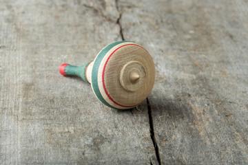 Wooden whirligig