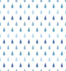 Seamless pattern of the rain