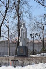 Владивосток, памятник святому Илье Муромцу