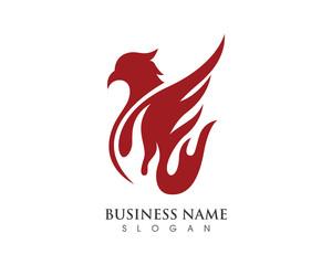 Falcon Logo Template 5