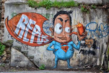 Duvar Resim Graffiti
