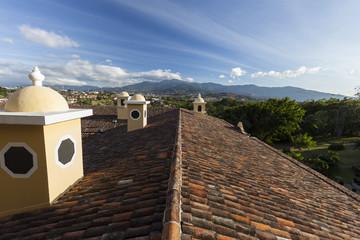 Über den Dächern von San José in Costa Rica