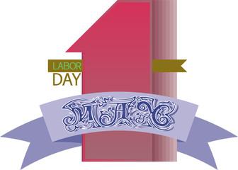 1 may, Labor day.