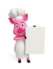 pig with presentation
