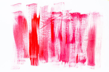red abstract painted background