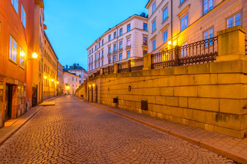 Gamla Stan at dawn