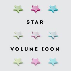 Icon Star Volume Pack 1