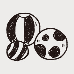 doodle toy ball