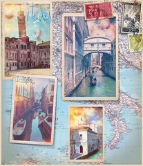 Garden Poster Imagination Holidays in Italy and Venice series