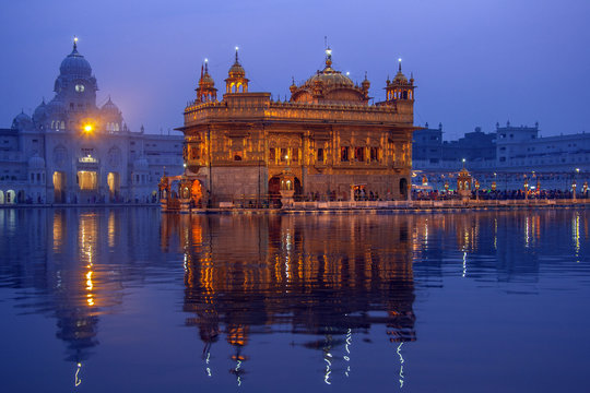 Golden Temple of Amritsar - Pubjab - India