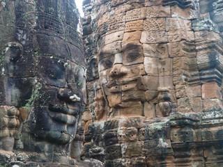 Angkor Wat. Bayon Temple