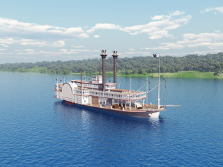 Steamboat of the Mississippi