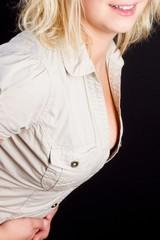 Nice Blonde lady