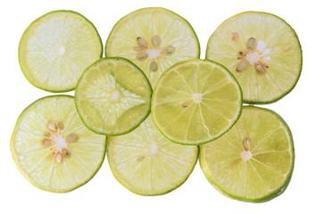 lemon slices Close-up