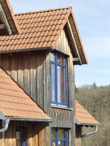 Wohnhaus Mit Doppelgiebel Und Holzfassade In Krofdorf Gleiberg