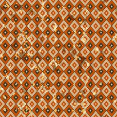 American vintage seamless pattern