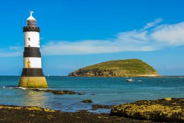 Trwyn Du Lighthouse and Puffin Island